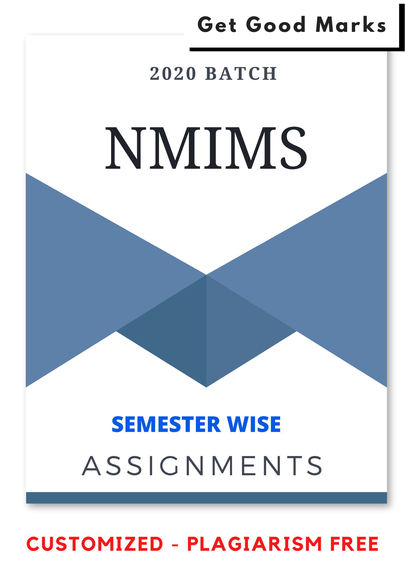 NMIMS Assignments Answer - Semester Wise course